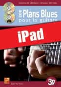 200 plans blues pour la guitare en 3D (iPad)