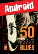 50 lignes de basse blues (Android)