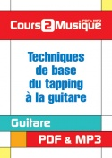 Techniques de base du tapping à la guitare