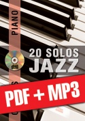 Chorus Piano - 20 solos de jazz (pdf + mp3)