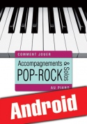 Accompagnements & solos pop-rock au piano (Android)