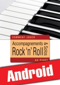 Accompagnements & solos rock 'n' roll au piano (Android)