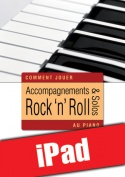 Accompagnements & solos rock 'n' roll au piano (iPad)