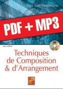 Techniques de composition & d'arrangement - Piano (pdf + mp3)