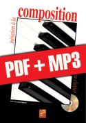 Initiation à la composition au clavier (pdf + mp3)