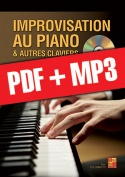 Improvisation au clavier (pdf + mp3)