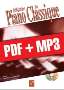 Initiation au piano classique (pdf + mp3)