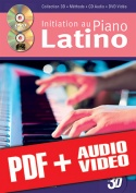 Initiation au piano latino en 3D (pdf + mp3 + vidéos)