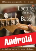 Lecture des notes à la basse (Android)