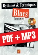 Rythmes & techniques blues à la batterie (pdf + mp3)