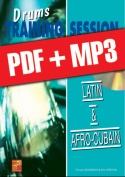 Drums Training Session - Latin & afro-cubain (pdf + mp3)
