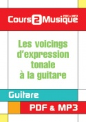 Les voicings d'expression tonale à la guitare