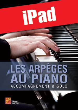 Les arpèges au piano (iPad)