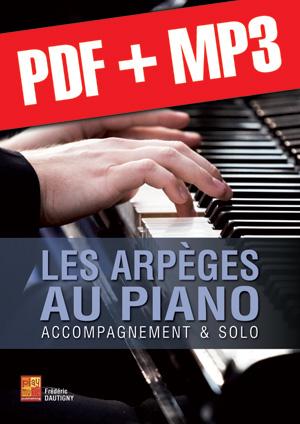 Les arpèges au piano (pdf + mp3)