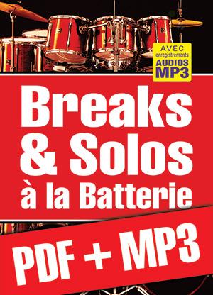 Breaks & solos à la batterie (pdf + mp3)