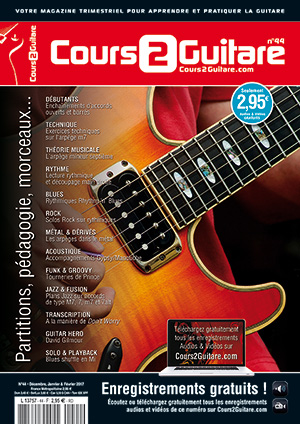 Cours 2 Guitare n°44