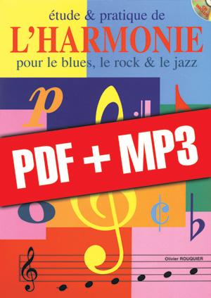 Etude & pratique de l'harmonie - Piano (pdf + mp3)