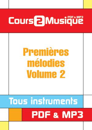 Premières mélodies - Volume 2