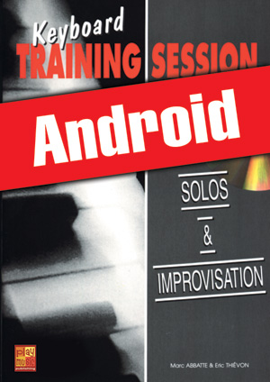 Keyboard Training Session - Solos & improvisation (Android)