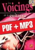 Los voicings de la guitarra (pdf + mp3)