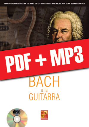 Bach a la guitarra (pdf + mp3)