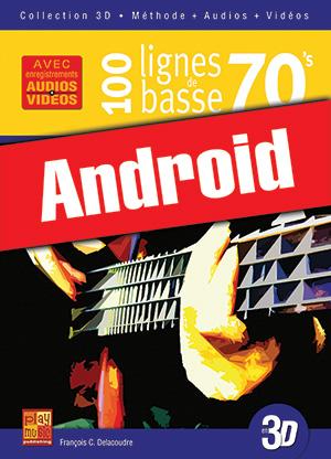 100 lignes de basse 70's en 3D (Android)