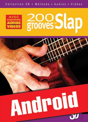 200 grooves en slap en 3D (Android)