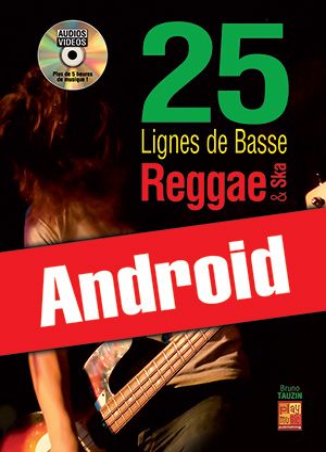 25 lignes de basse Reggae & Ska (Android)