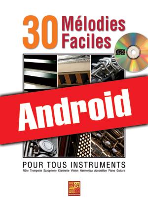 30 mélodies faciles - Tous instruments (Android)