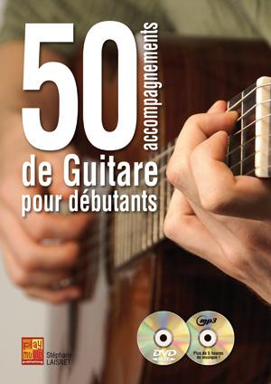 50 accompagnements de guitare pour débutants