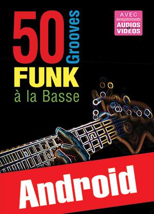 50 grooves funk à la basse (Android)