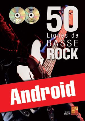 50 lignes de basse rock (Android)