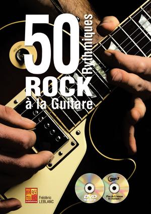 50 rythmiques rock à la guitare