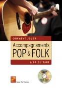 Accompagnements pop & folk à la guitare