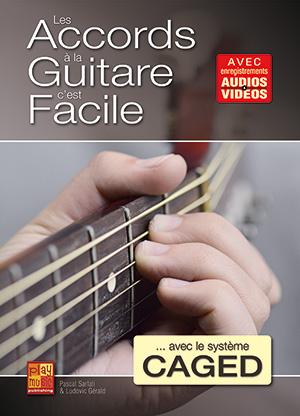Les accords à la guitare c'est facile... avec le système CAGED
