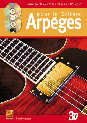 Arpèges pour la guitare en 3D