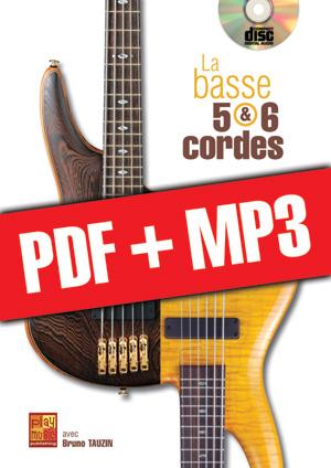 La basse 5 & 6 cordes (pdf + mp3)