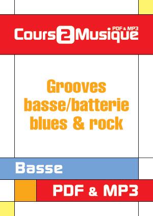 Grooves basse/batterie - Blues & rock