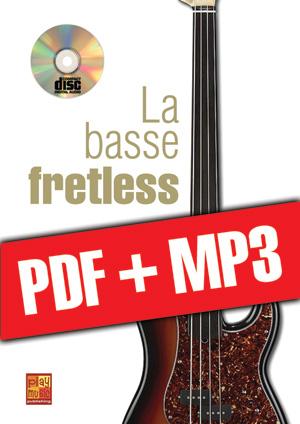 La basse fretless (pdf + mp3)