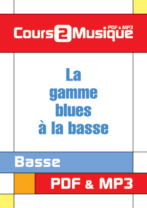 La gamme blues à la basse