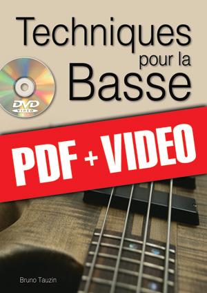 Techniques pour la basse (pdf + vidéos)