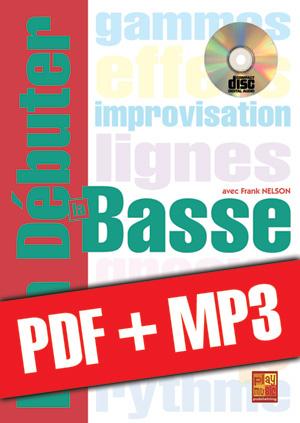 Bien débuter la basse (pdf + mp3)