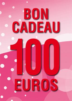 BON CADEAU DE 100 €
