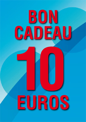 BON CADEAU DE 10 €