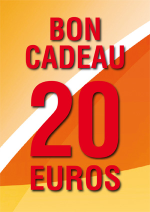 BON CADEAU DE 20 €