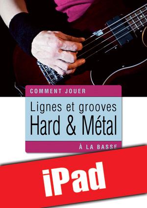 Lignes et grooves hard & métal à la basse (iPad)