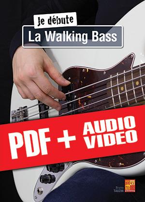 Je débute la walking bass (pdf + mp3 + vidéos)