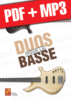 Duos pour la basse (pdf + mp3)