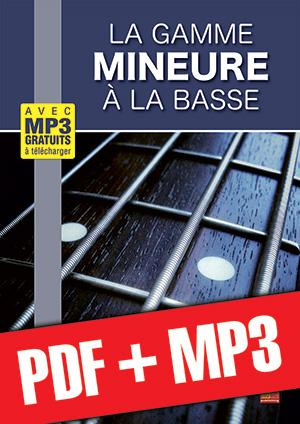 La gamme mineure à la basse (pdf + mp3)