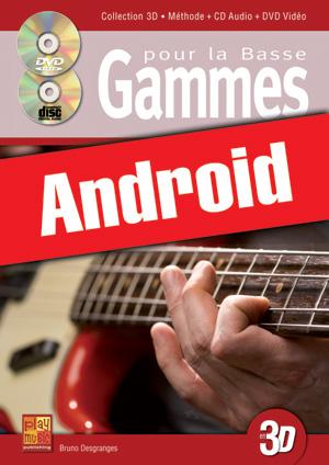 Gammes pour la basse en 3D (Android)